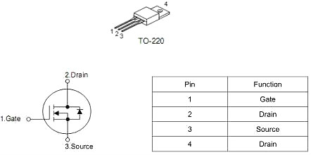 MOS管,KNX2404A替代IRF1404PBF,190A/40V