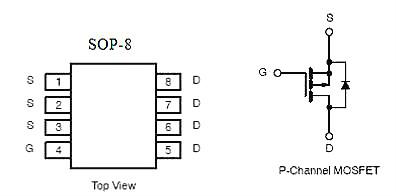 4703,KPE4703A,-8A/-30V