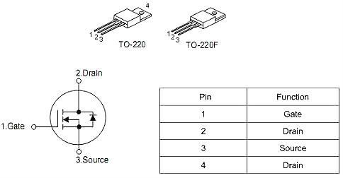 KNX6140A 10A/400V MOS管规格书 KIA原厂MOS管供货-KIA MOS管