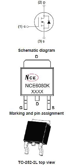 6080,NCE6080参数,NCE6080封装