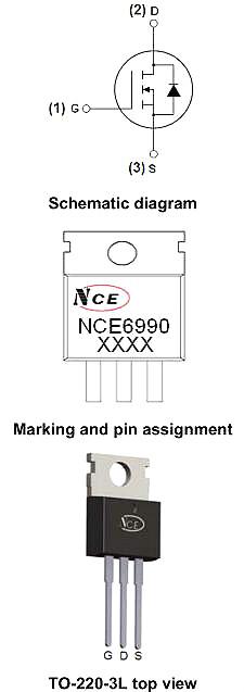 6990,NCE6990,NCE6990参数,88A/69V