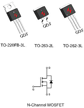 HY1603封装引脚图与参数详情-HY1603 30V/62A规格书-KIA MOS管