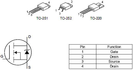 KIA50N03A,DTU09N03替代,55A/30V