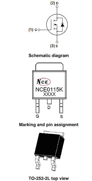 NCE0115K,NCE0115K参数,NCE0115K规格书