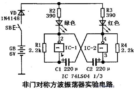 74ls04的功能和引脚图及74ls04应用电路图汇总解析