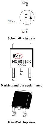 NCE0115K规格书,NCE0115K替代,NCE0115K封装