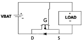 MOS管保护电路图/MOS管防反接电路安全措施
