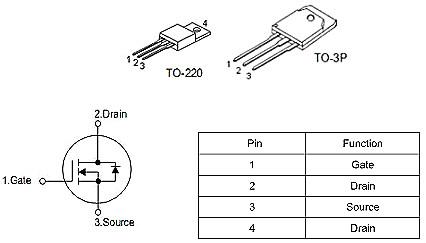 逆变器110V输出专用MOS管,KNX9130A,40A/ 300V