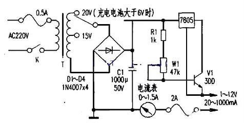 12v充电器电路图(四)