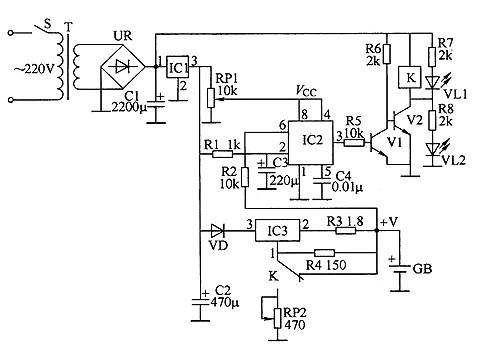 首页 新闻中心 公司新闻  用555时基集成电路制作的锂离子电池充电器