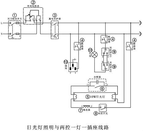 常见几大经典电工电路图及如何看懂电子电路图详解-KIA MOS管