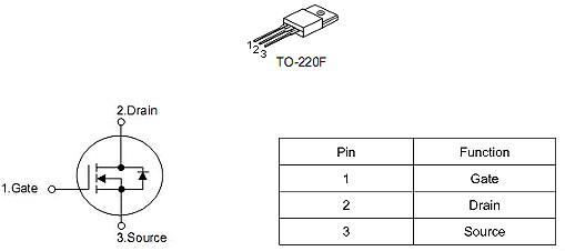 MOS管 10N65 10A/650V参数 原厂供货 性价比高 质量好-KIA MOS管