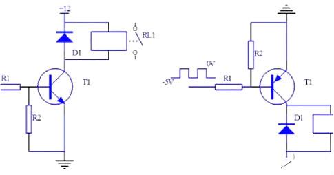 继电器,晶体管,驱动电路