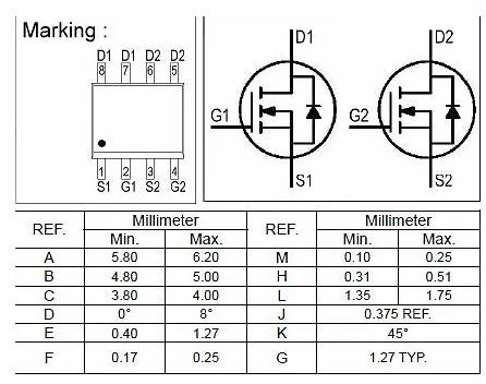 锂电池保护电路中功率MOS管的作用