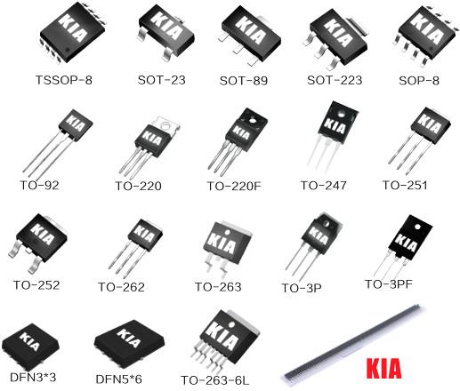 MOS管选型-新手该如何选择高性能的MOS管器件-KIA MOS管