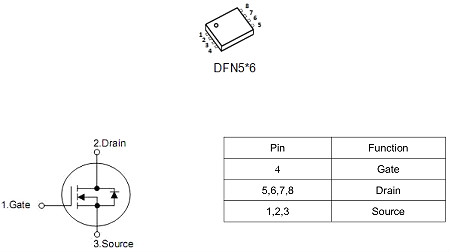 MOS管,KNX4850S,8A/500V