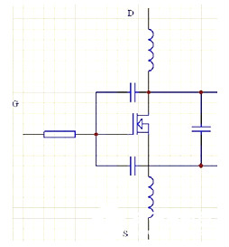 MOS管串联电阻,电压驱动器,串联
