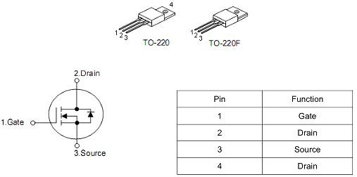7n80场效应管参数规格书 封装详情 技术支持 免费送样-KIA MOS管