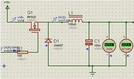 场效应管控制电路电流