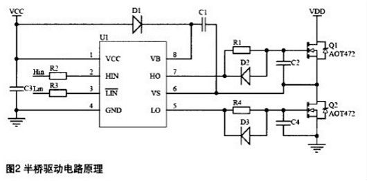 MOSFET半桥驱动电路