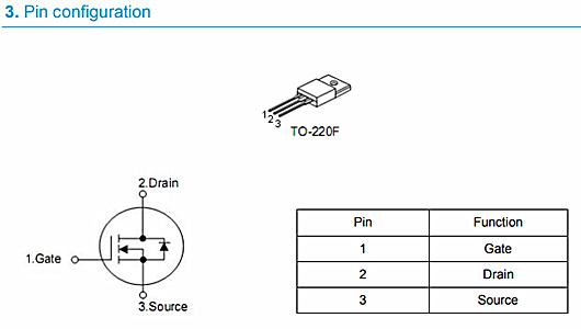 KIA65R700超结场效应管|参数规格|原厂直销-KIA MOS管