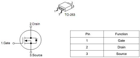MOS管120A85V KCX3008A参数PDF 免费送样 现货直销-KIA MOS管