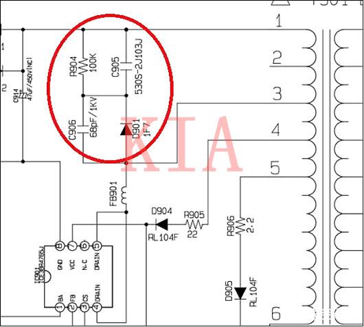 开关电源变压器的分布电容与漏感问题-KIA MOS管