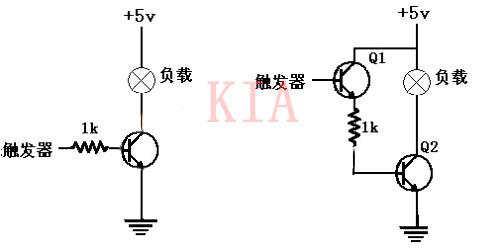 三极管开关应用及开关电路图分析-KIA MOS管